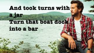 Sunrise, Sunburn, Sunset   Luke Bryan (Lyrics)