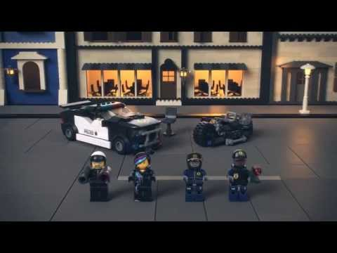 Vidéo LEGO The LEGO Movie 70819 : La course-poursuite de Méchant Flic