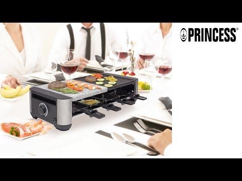 Piedra y parrilla Princess 162620 Raclette Premium Grill & Stone - ES