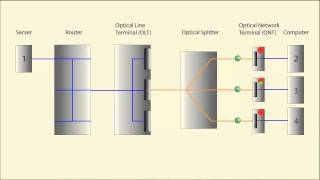 Passive Optical Networks Explained Visually