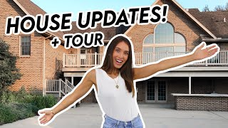 HOUSE UPDATES + TOUR *Renovations & Changes To Our Home*