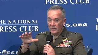 Chairman of Joint Chiefs of Staff Joseph F  Dunford speech at National Press Club  June 19, 2017
