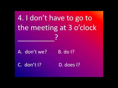 mp4 English Exercise Question Tags, download English Exercise Question Tags video klip English Exercise Question Tags