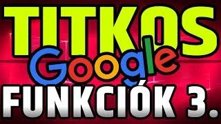 TOP 50 rejtett Google marhulás  | Tuti nem ismered mind! | 3. rész