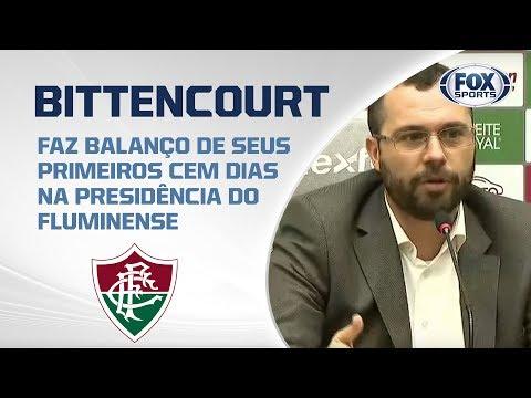 FLUMINENSE AO VIVO! Veja entrevista coletiva com Mario Bittencourt, presidente do clube