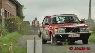 preview picture of video 'Ypres Historic Rally 2013 - European historic rally championship (HD) Pure Sound'