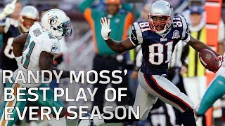 Randy Moss' Best Play of Every Season | NFL Highlights