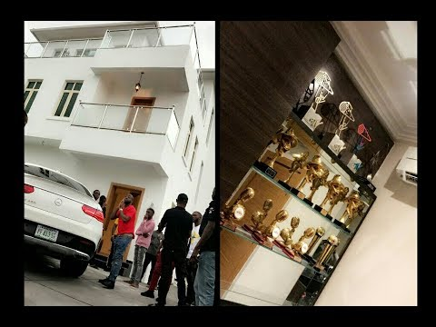 Download Davido Visits His Completed House Shows Off Expensive Facilities And Interior Unique Home Designs HD Mp4 3GP Video and MP3