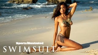 Kelly Gale Wears Nothing But A Necklace & Bikini Bottoms | Sports Illustrated Swimsuit