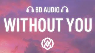 The Kid LAROI – WITHOUT YOU (Lyrics) | 8D Audio 🎧