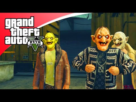 GTA V Funny Moments - HALLOWEEN JOBS ZIJN VET! (GTA 5 Online)