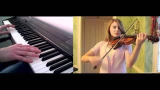 Princess Mononoke Theme -  Violin and Piano Collaboration with TamaThps