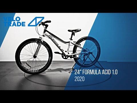 """Велосипед 24"""" Formula ACID 1.0 Vbr 2020: video"""