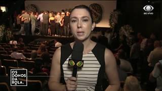 Familiares Se Despedem De Boechat No Velório Do Jornalista