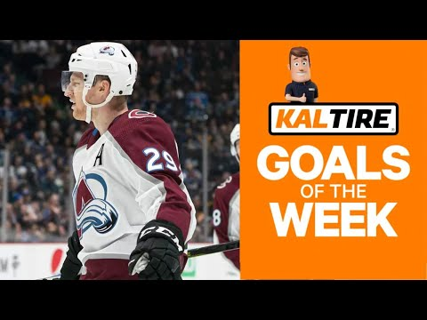 NHL Goals of the Week: Dowling dangles, MacKinnon goes end-to-end