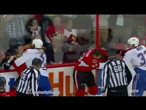 Ryan White vs Chris Neil