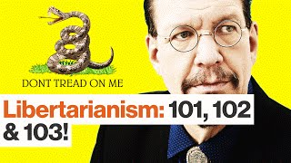 Penn Jillette on Libertarianism, Taxes, Trump, Clinton and Weed
