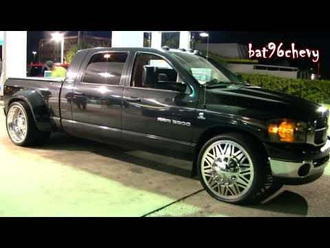 "Dodge Ram 3500 Dually Truck Lowered on 26"" Wheels - 1080p HD"