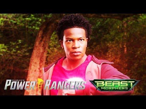 """Power Rangers vs Shockatron Battle   Power Rangers Beast Morphers Episode 17 """"Ranger Reveal"""""""