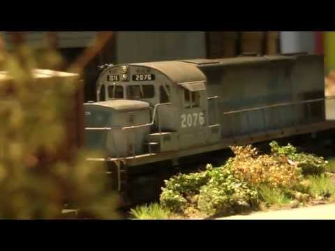 Awesome Model Train Layout in HO Scale Made in Germany