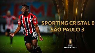 Sporting Cristal vs. São Paulo [0-3]   RESUMEN   Fecha 1 - Grupos   CONMEBOL Libertadores 2021