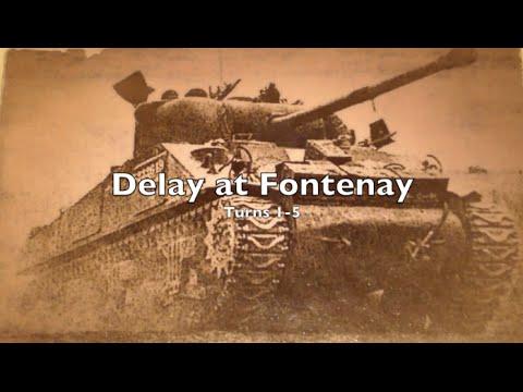 Playthrough - Tutorial 1 - Delay at Fontenay