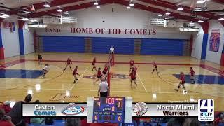 Caston Volleyball vs North Miami - 09-24-18