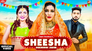 Sheesha Dekhungi Jarur Lyrics | Ak Jatti, Akki Aryan