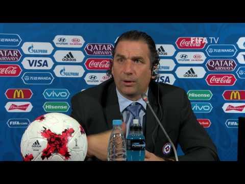 GER v. CHI - Juan Antonio PIZZI - Chile Post-Match Press Conference