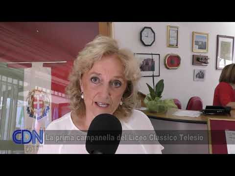 La prima campanella del Liceo Classico B Telesio