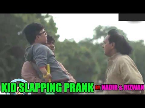 Kids Slapping Prank