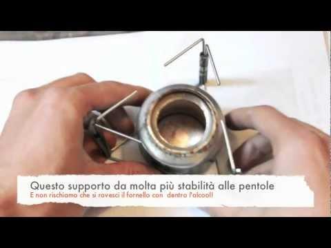 Supporto Pentola (Gavetta) Fornello ad Alcool - Alcohol Stove Pot Stand