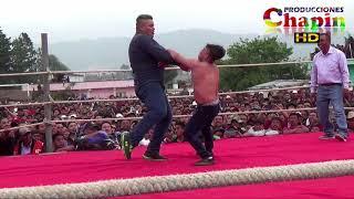 Goliat pierde la cabeza en el ring de chivarreto guatemala