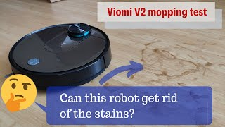 Viomi V2 Mopping Test