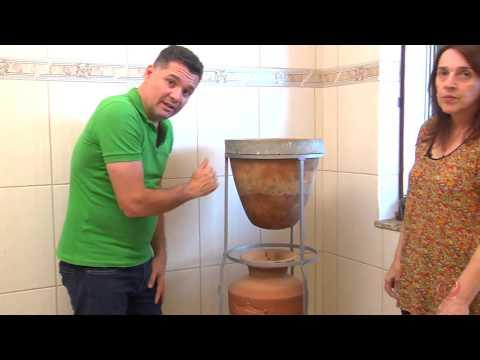 Em Alto Rio Doce encontramos um filtro com mais de 100 anos