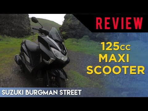 Suzuki Burgman Street: 125cc Maxi Scooter Review (HINGLISH)