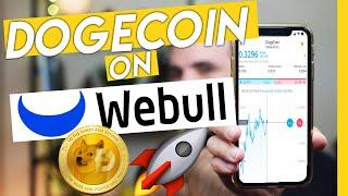 Kannst du dojecoin nach Stunden am Webull kaufen?