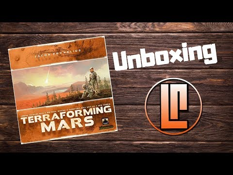 Lucky Roll Reviews - Unboxing - Terraforming Mars