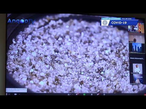 Produção diamantífera afectada pela Covid-19