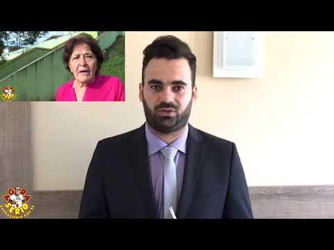 Secretário de Gestão Junior encontra dificuldade durante vídeo de resposta para pronunciar Jornal Agora é Sério e Ex Prefeita Cida Maschio