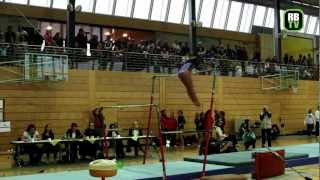 preview picture of video 'Johanna Seese - Kunstturnen Damen - Regionalliga Mitte 2012 - 3. Wettkampftag'