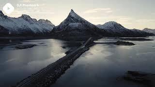 ???? Norway Mountains Winter | DJI Phantom 4 4K Royalty free stock video footage