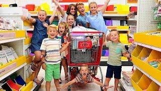 School Supplies for NINE KIDS | (GIVE AWAY)
