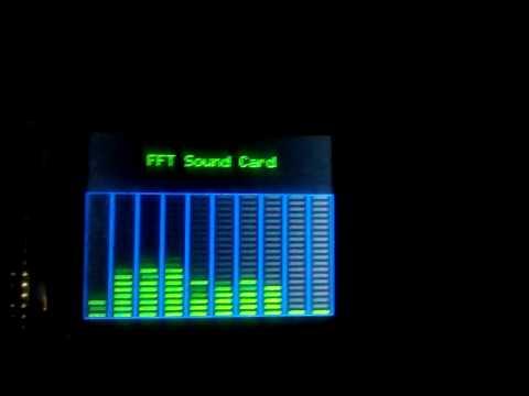 STM32F103C8 16 point FFT Audio Spectrum Analyzer 2 - смотреть онлайн