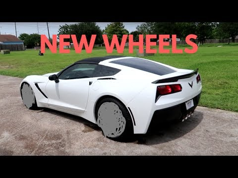 Installed new wheels on my Chevrolet Corvette