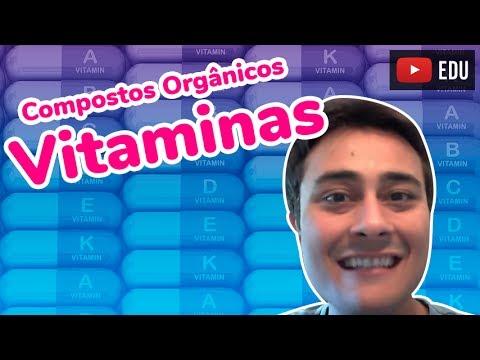 Vitaminas - Compostos Orgânicos - Prof. Paulo Jubilut
