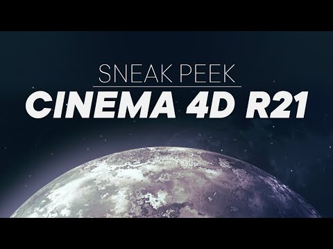 Cinema4D R21 Sneak Peek