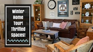 WINTER HOME TOUR 2020! My Vintage Cottage Style