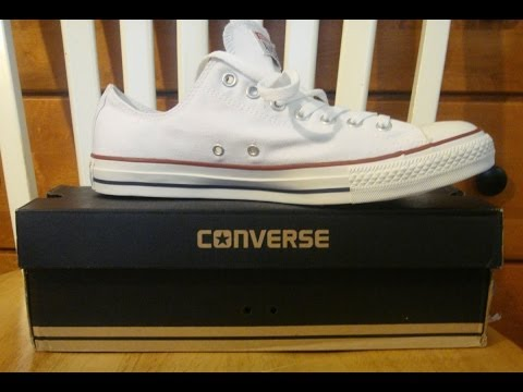 Converse Optical White Chuck Taylor All Stars Shoe Review