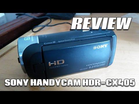 Review EN ESPAÑOL de mi nueva videocámara - Sony Handycam HDR-CX405 | Futuzor